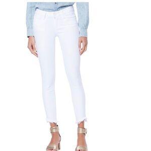 PAIGE - Verdugo Slanted Crop Skinny Jean